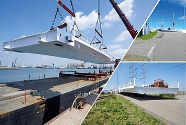 Brug Dronryp wordt geplaatst in Friesland!