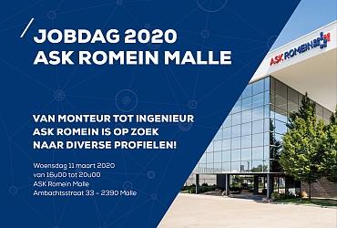 Jobdag 2020 van ASK Romein mikt op een breed spectrum van profielen