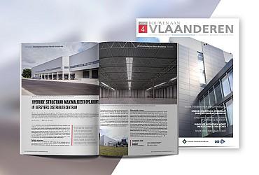 Artikel over Henco Industries in Bouwen aan Vlaanderen