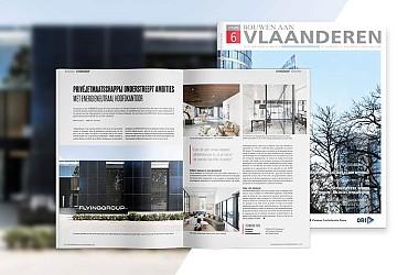 Artikel in Bouwen aan Vlaanderen - FLYINGGROUP